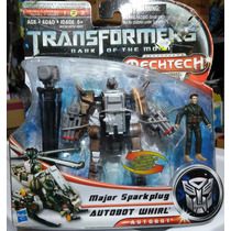 Transformers Dark Of The Moon Human Alliance Whirl Sparkplug