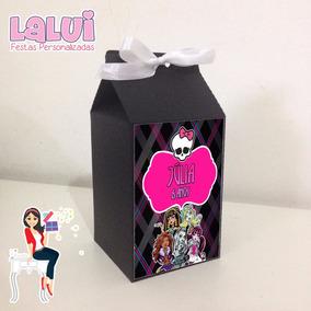 Lembrancinha Monster High - Caixa Milk Para Guloseimas