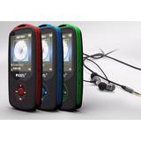 Mp4 4gb + 8gb Kingston Bluetooth Radio Fm Bat. Alta Durac