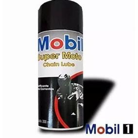 Oleo Lubrificante Corrente Mobil Spray Chain Lub Super Moto