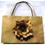 Sacola Decorada Flor Personalizada 15 X 30 X 10cm (10 Unid)