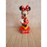 Figura Alcancia De Minnie Mouse Disney Original 27cm