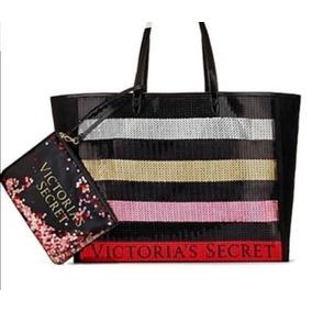 Bolsa Tote Más Cosmetiquera Victorias Secret