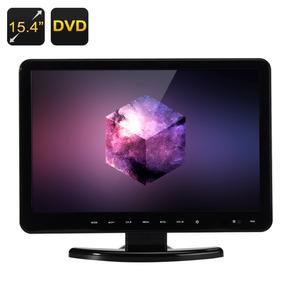 Tv Monitor 15 Full Hd C/ Dvd Integrado Usb Hdmi Sd Kp-d116