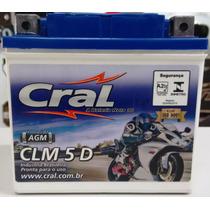 Bateria Cral Ttr 230 Ttr-230 Ttr230 Ytx5lv-bs Clm5d
