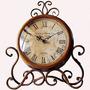 Glodeals Ultra Silencioso Reloj Europeo Del Estilo Antiguo