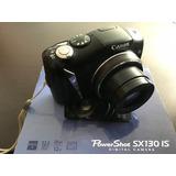 Canon Powershot Sx130 Is - Cámara Digital 12.1 Mp