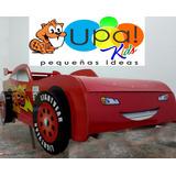 Cama Cars...diseño De Muebles Infantiles Y Juveniles