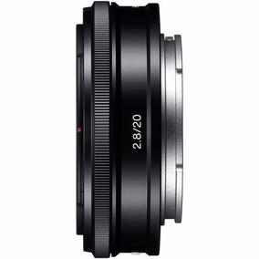 Lente Sony 20mm F/2.8 Grande Angular E-mount (sel20f28)