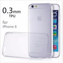 Funda Ultra Delgada Transparente Phone 6 Tpu Ultra Slim, 2x1