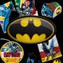 Kit Festa Infantil Batman 2016 P/ 24 Pessoas - 240 Itens