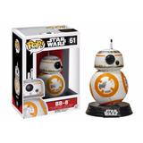 Bb8 Funko Pop Colecciones Star Wars Original