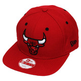 Boné New Era Snapback Nba Chicago Bulls Team Color Vermelho