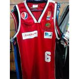 Camisa O Camiseta De Basket De Cocodrilo De Caracas S M L Xl