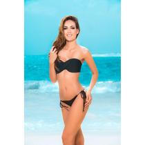 Bikini Tanga Brasileña Hilo Top 6846 (tanga L Y Top Ch O M)