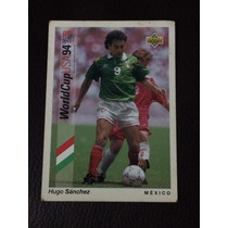 Tarjeta Upper Deck 93 World Cup 1994 Hugo Sanchez