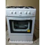 Cocina Linea Blanca 4 Hornilas+horno