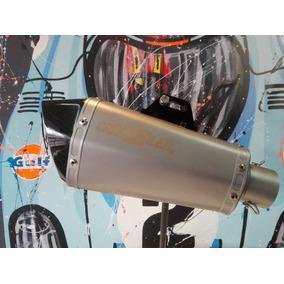 Silenciador De Moto Universal Cañossilen Cs9