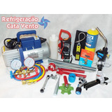 Kit Ferramentas P/ Refrigeração Ar Condicionado E Carro 134a