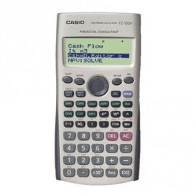 Calculadora Fin Casio C/ Monitor De 4 Linhas Fc-100v S/frete