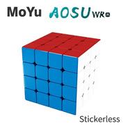 Cubo Mágico 4x4x4 Moyu Aosu Wr M Magnético Colorido