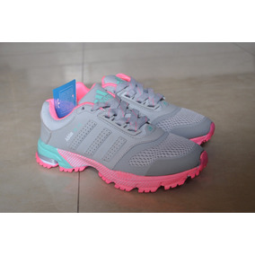 Kp3 Zapatos adidas Marathon Tr 15 Gris Fucsia Damas