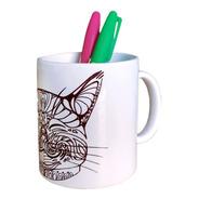 Kit Mug Pintable Permanente