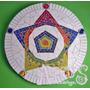 Mandala 50cm En Mosaico - Azulejos Y Venecitas * Arcus *