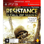 Resistance Fall Of Man Ps3 Mídia Física Original Lacrado