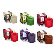 Velas Perfumadas Aromatizadas 60g Kit Com 6 Peças