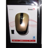 Mouse Genius Nx-7015 Wireless Blueeye Usb Dorado