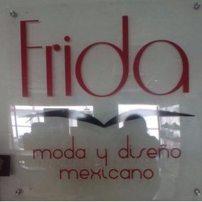 Letrero Negocio Diseño Mexicano