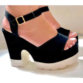 38fcaffded Ankle Boots Meia Pata Feminino Sandalias - Sapatos no Mercado Livre ...