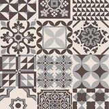 Cerámica Esmaltada Alberdi Marrakech Negro 32x60cm - Carosio
