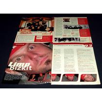 Limp Bizkit Fred Durst Coleccion De Recortes De Revistas