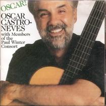 Cd Oscar Castro Neves - Oscar - Novo***