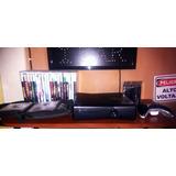 Xbox 360 Slim Chip 3.0 4gb 2 Controles 60 Juegos Fisicos