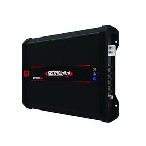 Potencia Amplificador Soundigital 4000.1d Evo (1 Ohmio)