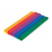 Kit Com 10 Papel Crepom Colorido 48 Cm X 2 Mts Vmp