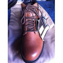 Zapatos De Seguridad N 38 Cuero Café Marca Le Coq.