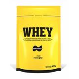 Whey Protein Concentrado 80% 907g Naturovos - Sabor Natural