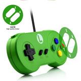 Controle Para Nintendo Snes Controlador Usb Luidi