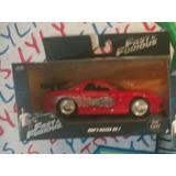 Mazda Rx7 Rojo Toreto Rápido Y Furioso Metalico Lyly Toys