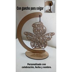 Centros De Mesa Angel De La Guarda Personalizados 15 Piezas
