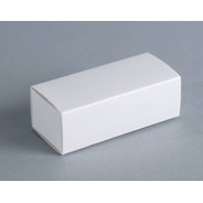 Caja Fosforera Rectangular Alargada Mini 9 X 3,2 X 3,4 Cm (x 50 U.) Bombones Trufas Limas Bauletto