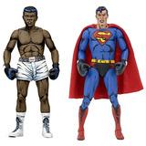 Neca Dc Comics Superman Vs Muhammad Ali Figura De Acción De