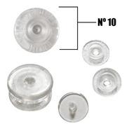 Botão De Pressão Ritas N10 Com 50un Transparente