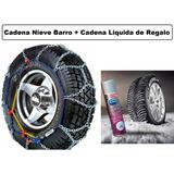 Cadena Nieve Barro Premium 12mm Auto Eslabón Grueso Net 80