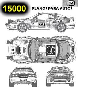 15.000 Plantillas Vectorizadas Rotulación Vehículos Planos