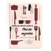 50 Convites De Chá De Cozinha (pacote Com 50)